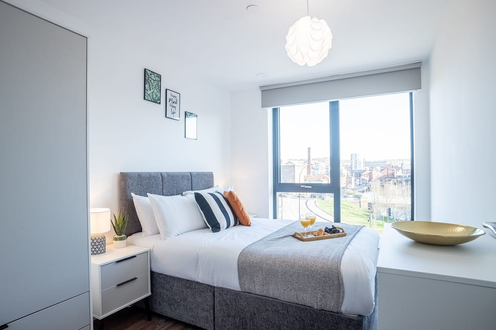 דירת יוקרה, 2 חדרי שינה - חדר