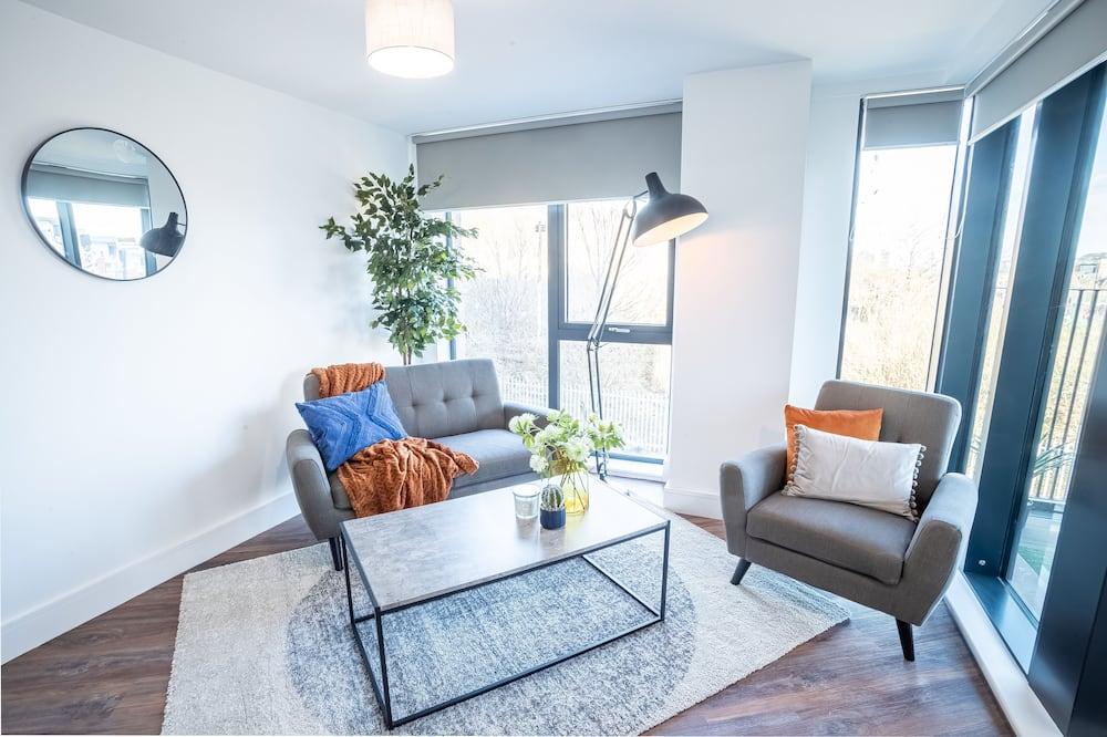דירת יוקרה, 2 חדרי שינה - אזור מגורים