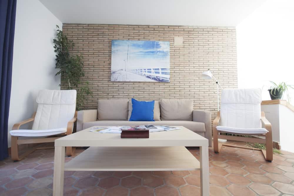 Design-lejlighed - Stue
