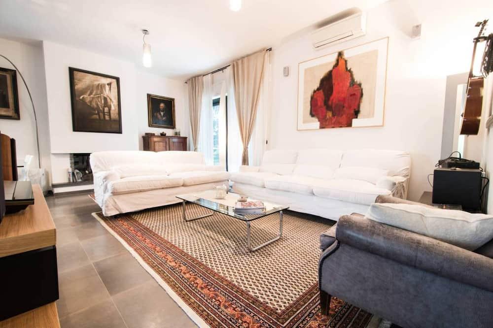 Vila - Obývací prostor