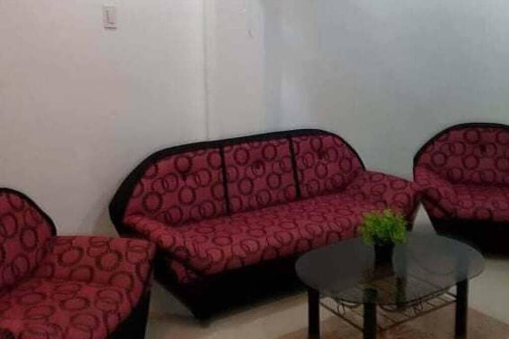 Căn hộ, 1 giường cỡ queen - Phòng khách