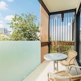 Išskirtinio tipo apartamentai, 1 miegamasis, Nerūkantiesiems, vidinis kiemas - Balkonas