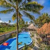 豪華客房, 3 間臥室, 泳池景 - 泳池