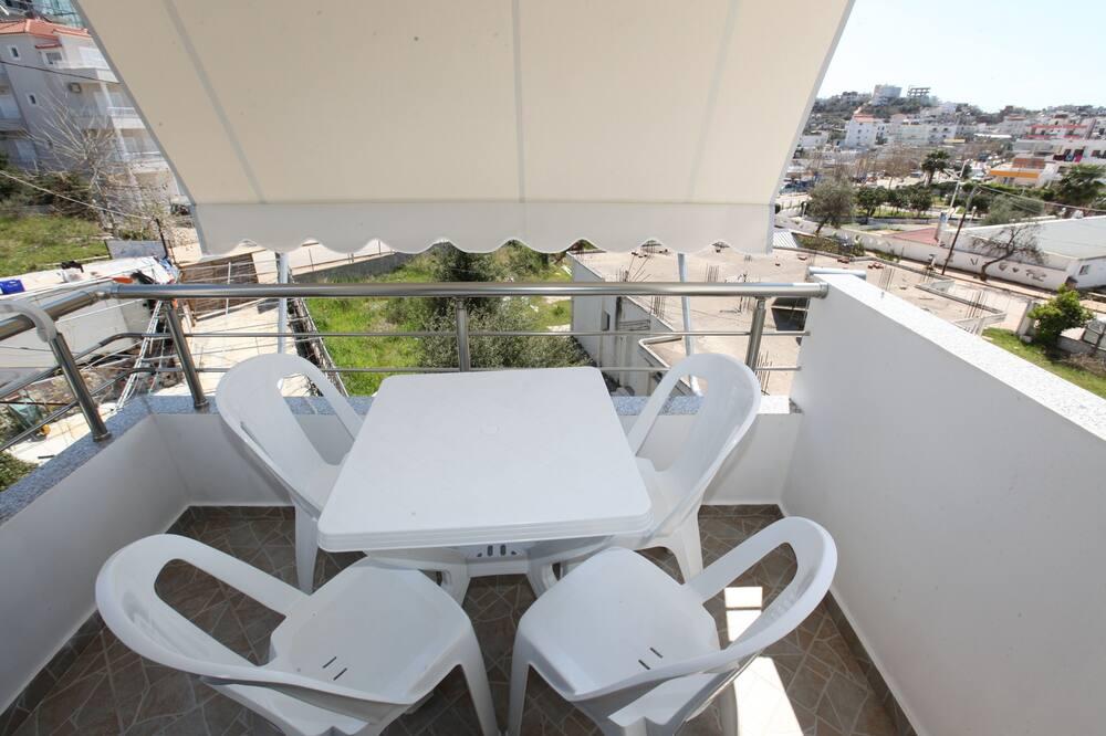 Familieværelse - balkon - Altan