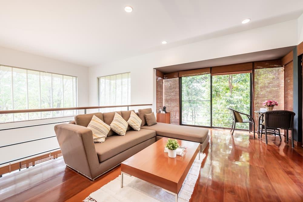 Duplex Twin with Terrace - Garden View - 客廳