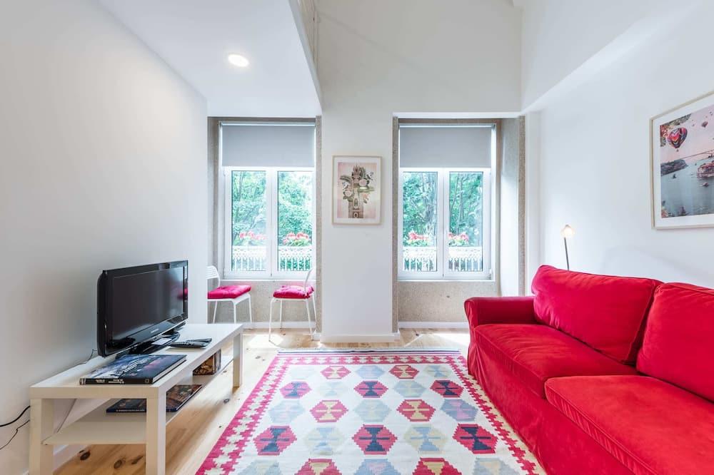 Apartmán typu Basic, viacero postelí - Obývačka