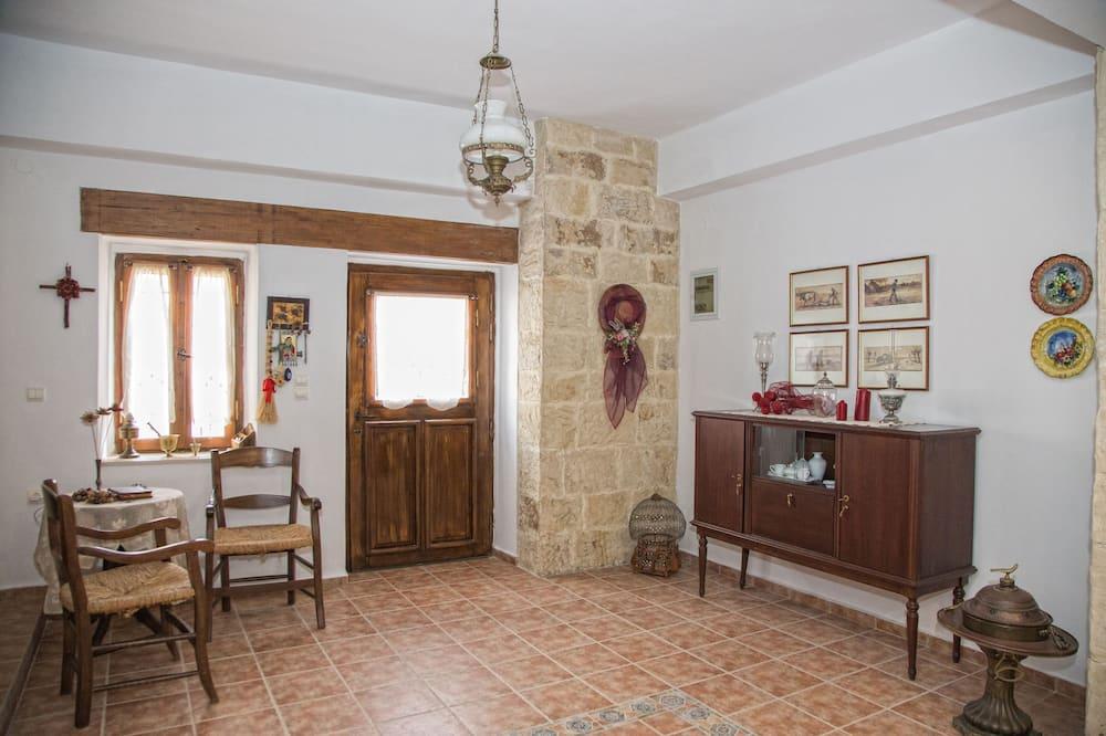 Tradicionális ház - Nappali rész