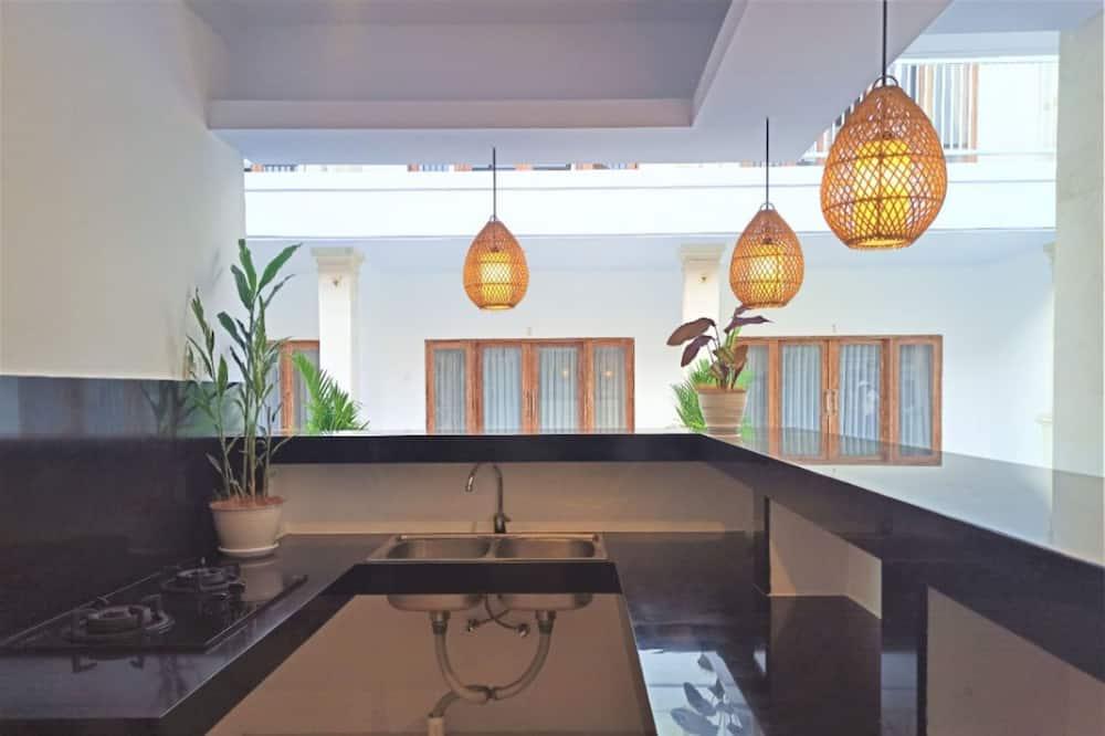 Standard-Doppelzimmer - Gemeinschaftlich genutzte Küchenausstattung