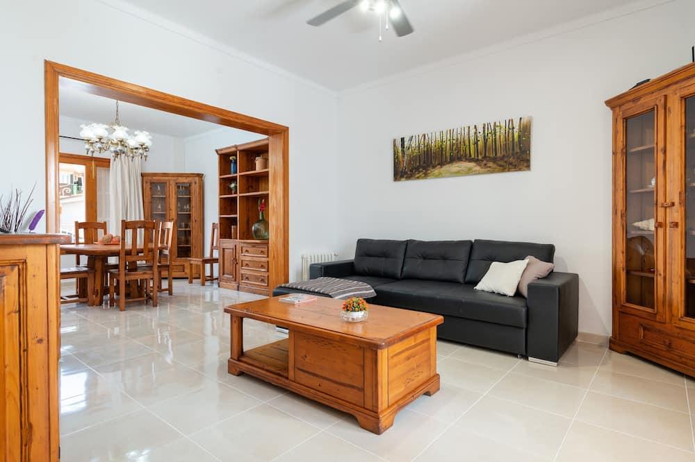 Faház, terasz, kilátással a városra (4 Bedrooms) - Nappali