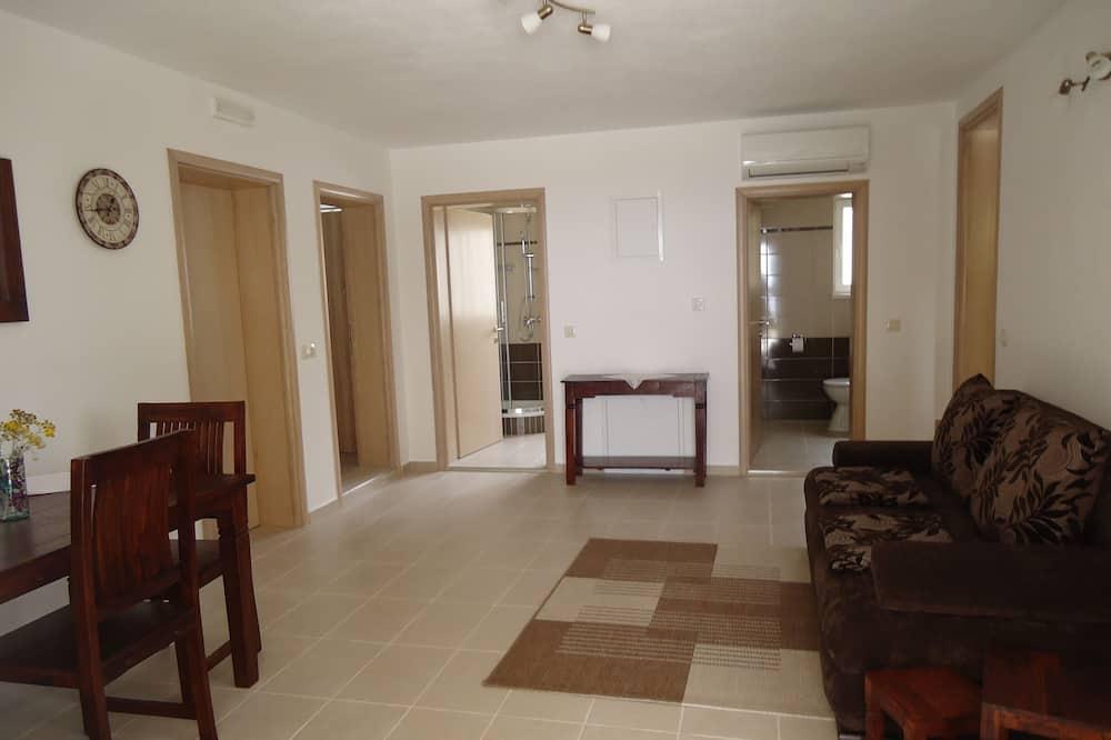 Apartamento (One Bedroom Apartment with Terrace) - Sala de Estar