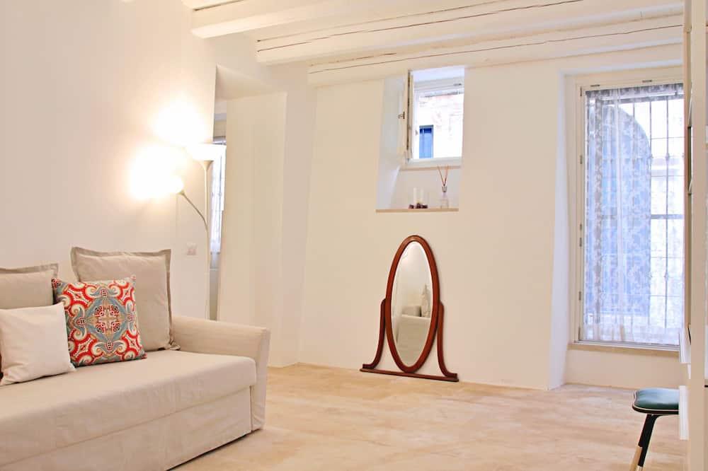 디자인 아파트 - 거실 공간