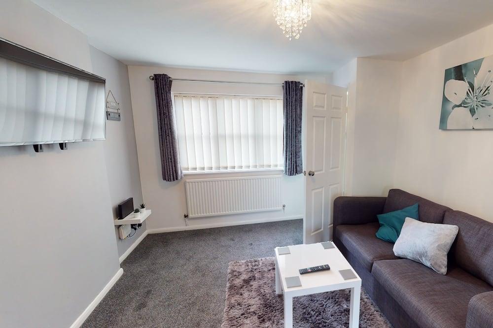 Dom typu Business - Obývacie priestory