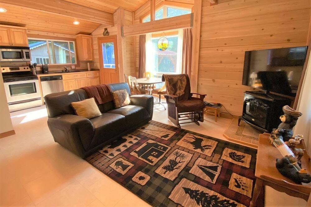 Kabin (Tatoosh Base Camp) - Ruang Keluarga
