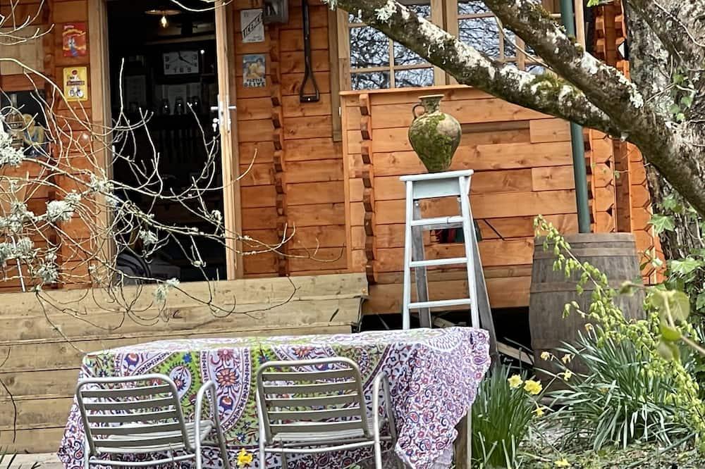 小屋, 1 張加大雙人床 - 陽台