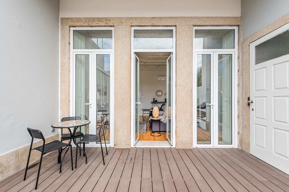 Basic Apart Daire, 1 Çift Kişilik Yatak ve Çekyat - Balkon