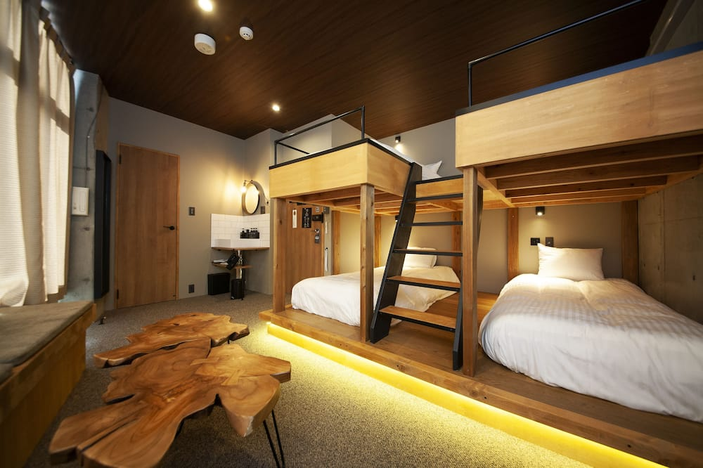 Chambre Deluxe, non-fumeurs (4 Single Beds) - Chambre