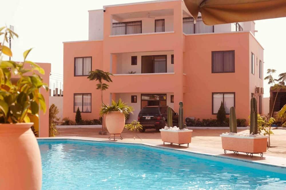 Apartment, 2Queen-Betten - Pool