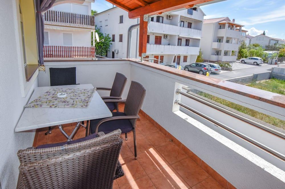 Apartman (A1) - Balkon