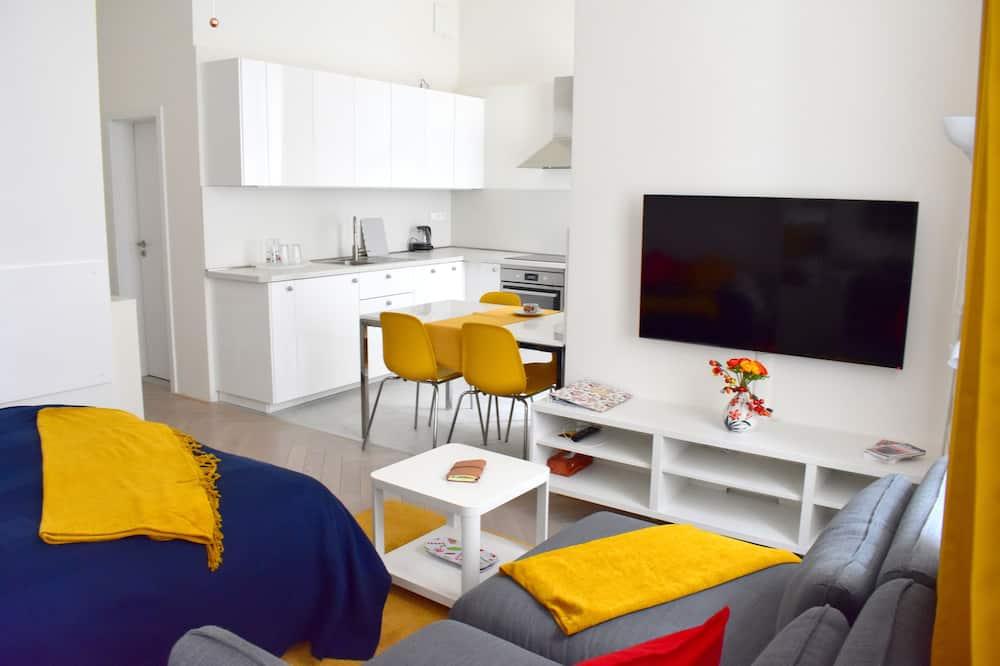 Apartament typu City Studio - Powierzchnia mieszkalna