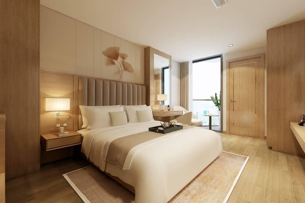 Deluxe szoba két külön ággyal, kilátással az óceánra - Kiemelt kép