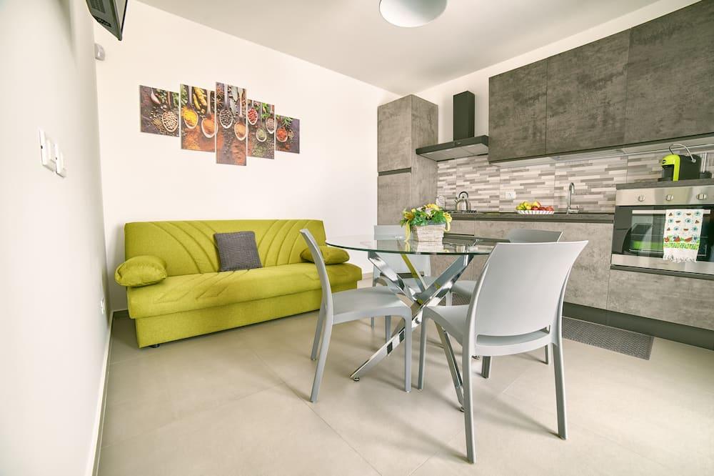Представительские апартаменты - Зона гостиной
