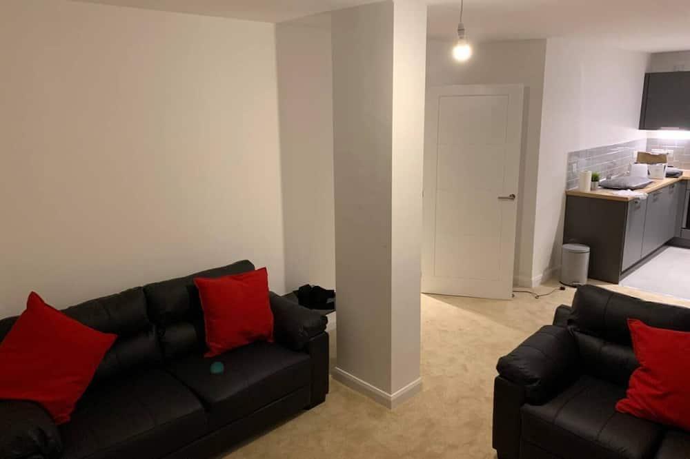 公寓, 2 張標準雙人床 - 客廳