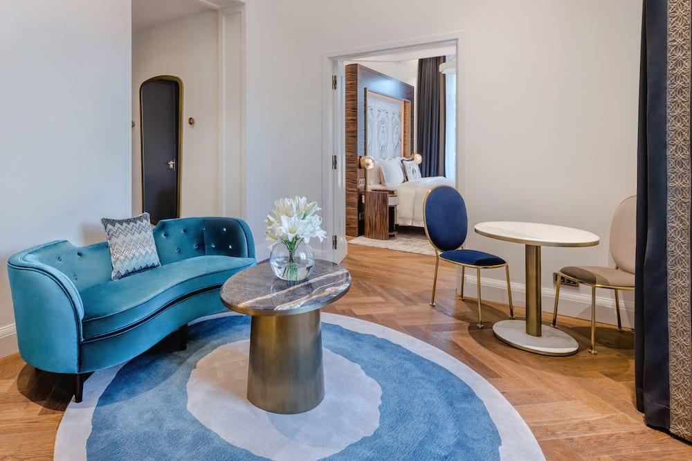 Apartament typu City Suite, Łóżko king, widok na miasto (eco) - Powierzchnia mieszkalna