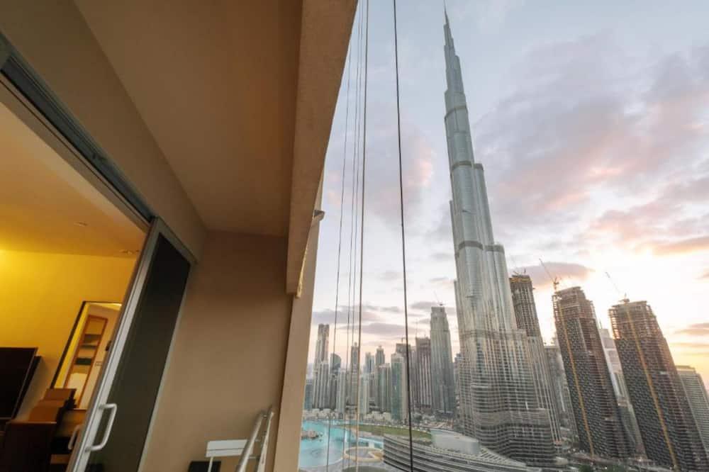 apartman (0 Bedroom) - Kilátás az erkélyről