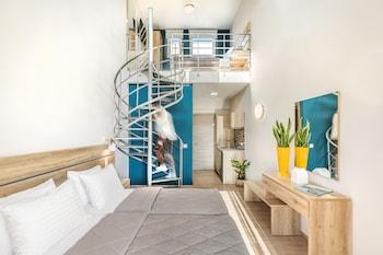 Foto Hotelo Sunshine Apartments di Dio-Olympos