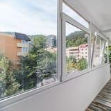 Apartment, 1 Katil Raja (King) dengan Katil Sofa - Balkoni