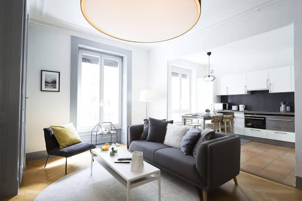 Basic Διαμέρισμα, 1 Queen Κρεβάτι - Καθιστικό