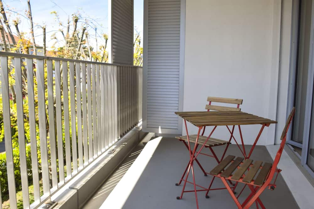 Basic-Studio, 1 Queen-Bett - Balkon