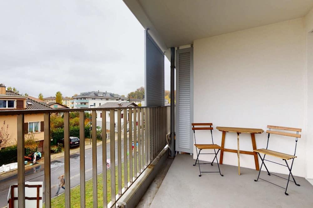 基本開放式客房, 1 張加大雙人床 - 露台