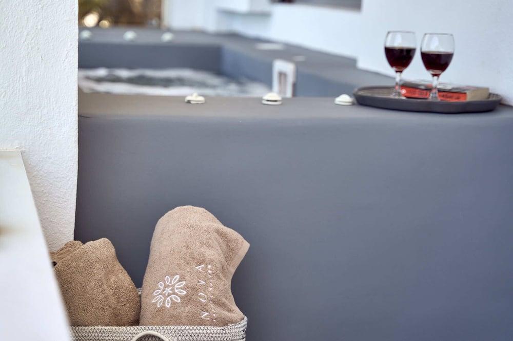 Spabad buiten