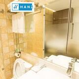 Chambre Double Deluxe, 1 grand lit, vue ville - Salle de bain