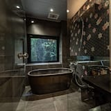 Osnovna četverokrevetna soba, za nepušače (Japanese Western style) - Kupaonica