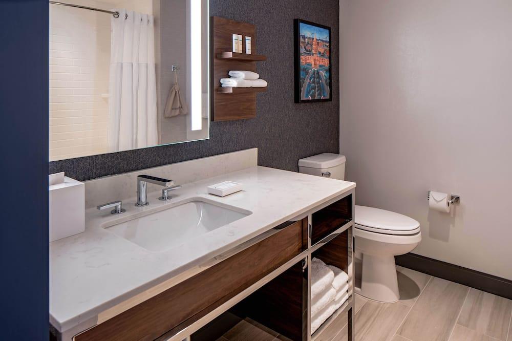 Deluxe-Zimmer, 2Queen-Betten (Capitol View) - Badezimmer