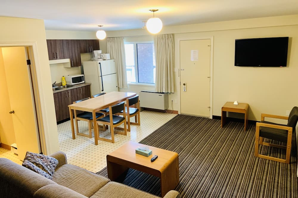 Studiové apartmá typu Deluxe - Obývací prostor