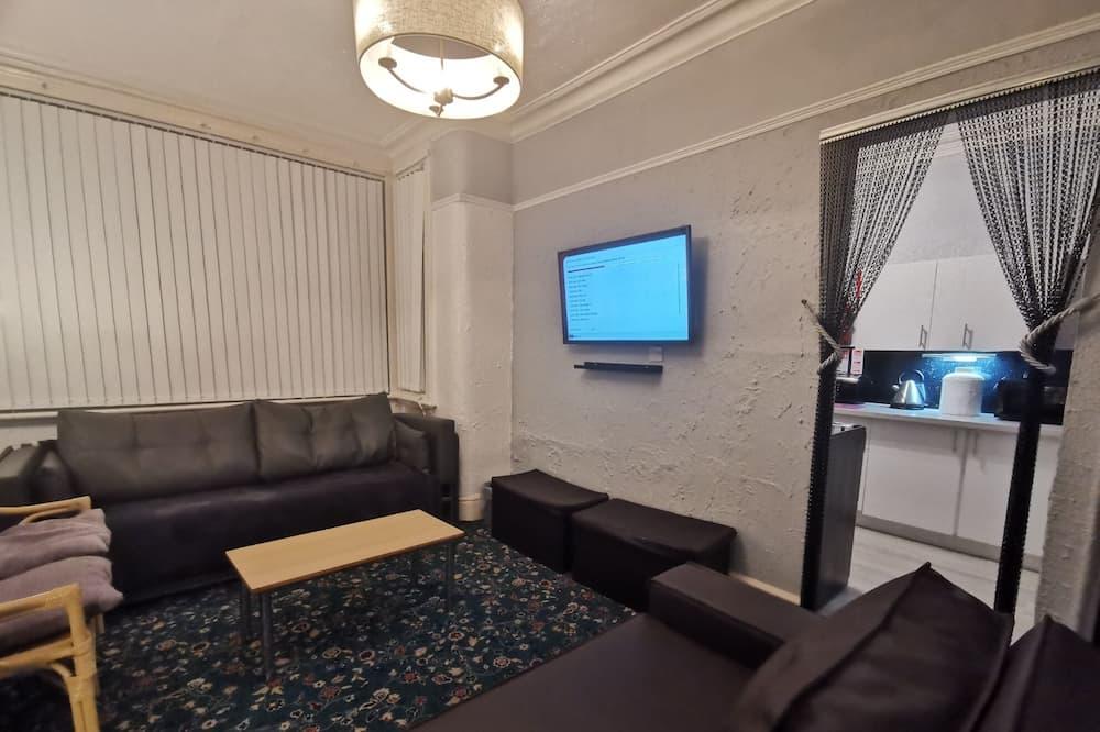 Huoneisto, Useita sänkyjä - Olohuone