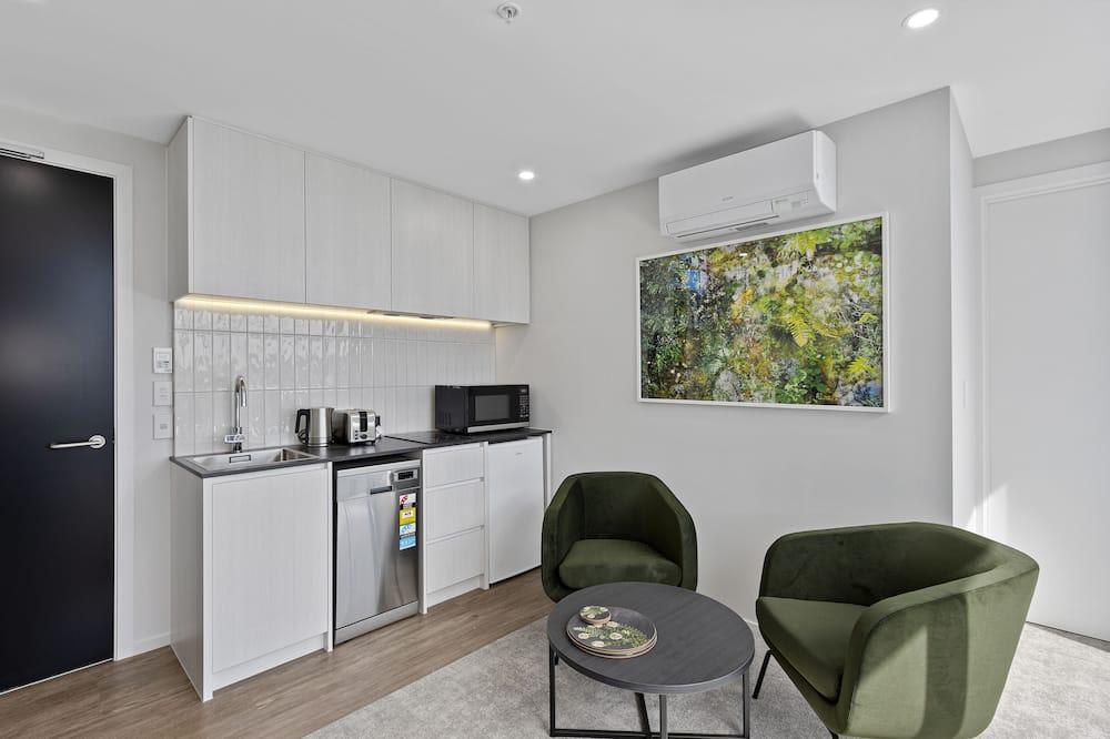 Apartmán, 1 spálňa, nefajčiarska izba (1 King Bed) - Obývacie priestory