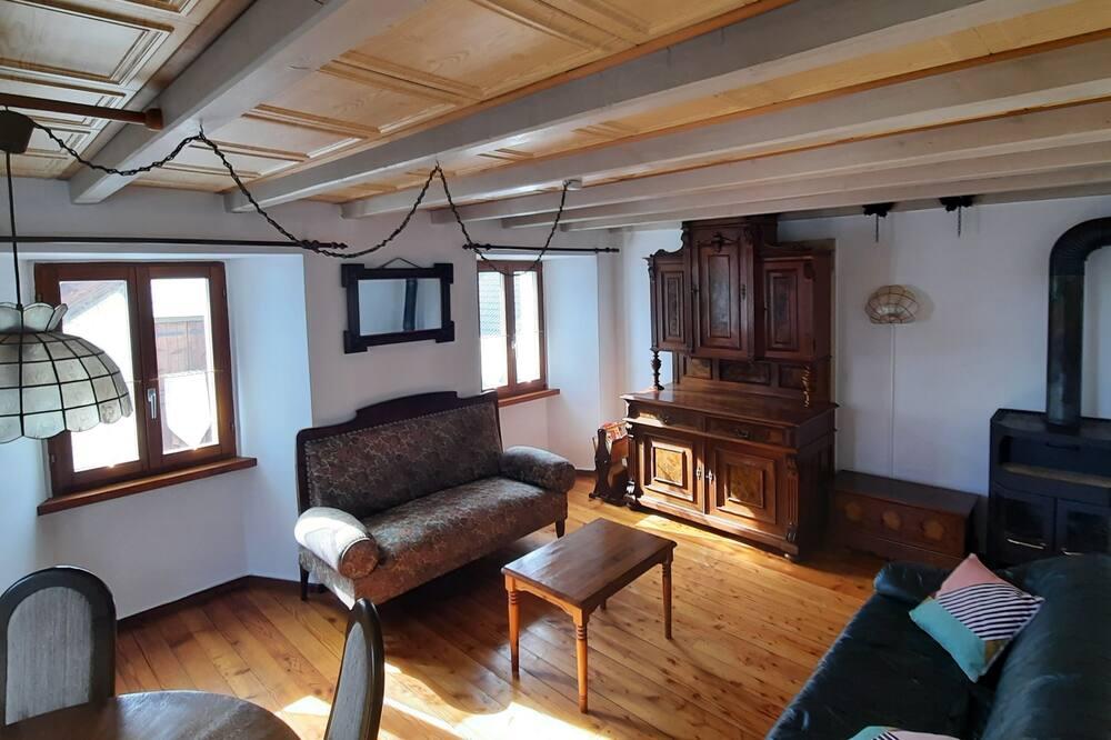 Lägenhet - 2 sovrum - utsikt mot bergen - Vardagsrum