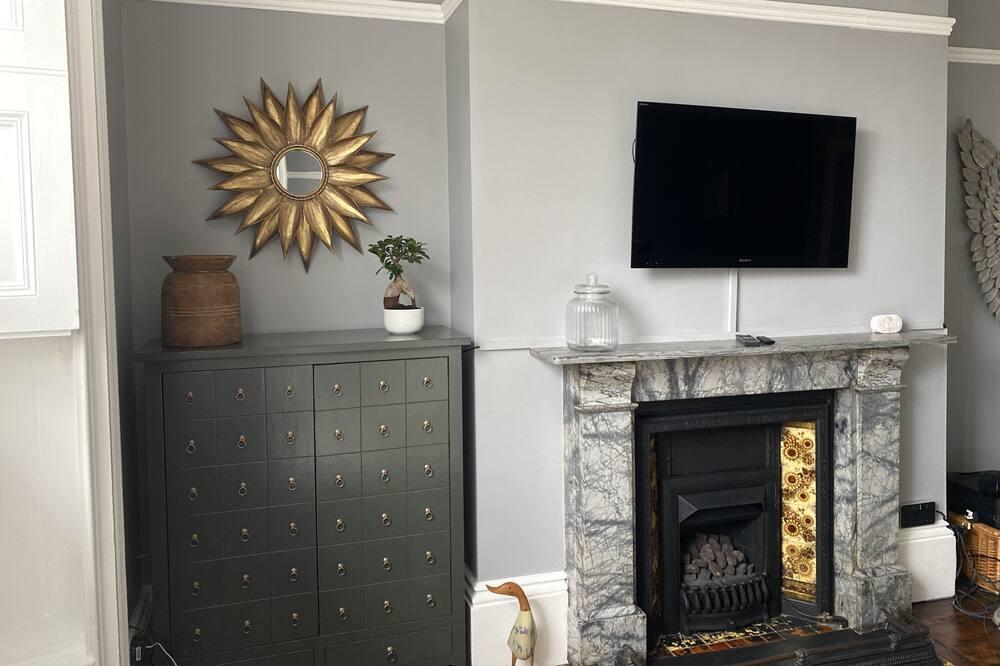 Apartmán, 2 veľké dvojlôžka - Obývačka