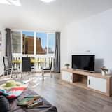 익스클루시브 아파트, 침실 3개 - 거실 공간