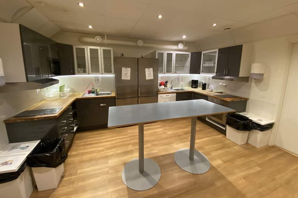 Habitación básica con 1 cama doble o 2 individuales, baño compartido - Cocina compartida