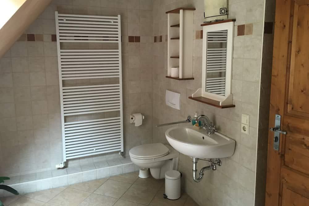 Traditional House, Private Bathroom (Bikehütte Rehnhäusl) - Bathroom