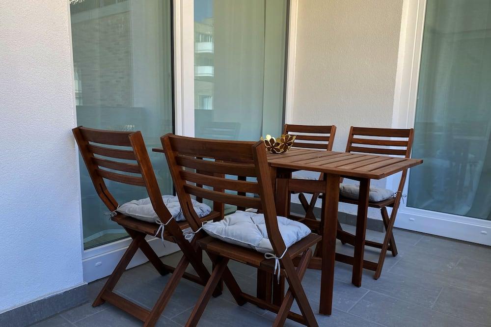 Apartament, 2 sypialnie - Balkon