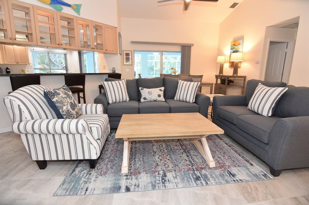 Māja (Wild Lime Home) - Dzīvojamā istaba