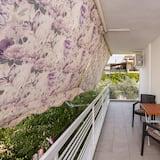 Appartement Familial, 2 chambres, non-fumeurs, vue ville - Balcon