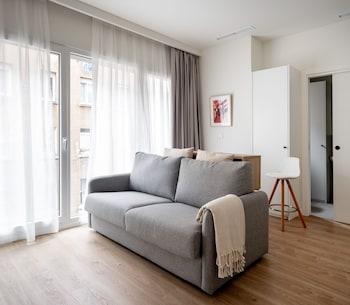 Фото Apartamentos Líbere Bilbao La Vieja в в Бильбао