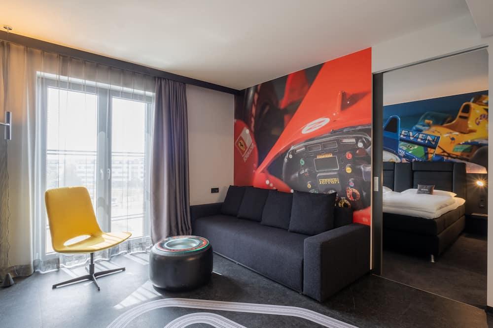 Apartmán (Racing) - Obývacie priestory